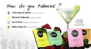 martini bacardi tabooze all the fun and 0 calories