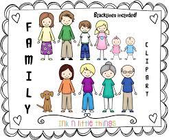 my family clipart clip clipartix