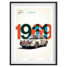 porsche poster unique limited poster u2013 porsche 917 le mans 1970