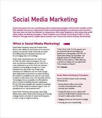marketing plan samples 8 free pdf documents download free