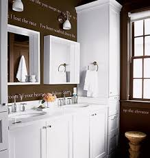 chocolate brown bathroom ideas the idea of using song lyrics and the appropriatness of the
