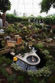 Botanical Gardens Pittsburgh History In Miniature Tiny Plants Surround Phipps Garden Railroad
