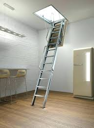 loft ladder ideas attic folding stairs sizes cabin loft ladder