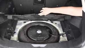 nissan rogue dimensions 2016 2015 nissan rogue spare tire and tools youtube