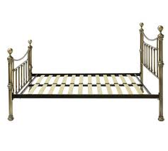 buy heart of house mason kingsize bed frame antique brass at