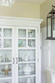 farmhouse home how to style a farmhouse china cabinet making it