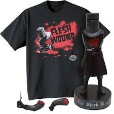 monty python fan gift set with black knight shake em u0027s doll and