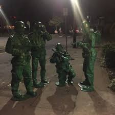 Green Army Man Halloween Costume Scare2go Halloween Costume Contest Car2go Blog