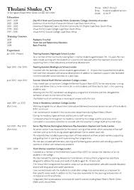 cover letter for cv examples south africa format of a cv in south africa open thesis paper