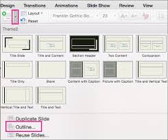 cara membuat outline artikel create a powerpoint presentation from an outline office support