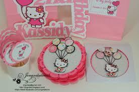 birthday and baby shower invitations sanrio hello kitty handmade