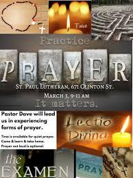 lutheran rosary practice prayer meeting st paul lutheran church