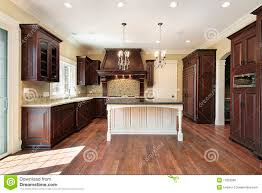White Island Kitchen Kitchen With White Marble Island Stock Images Image 12656354