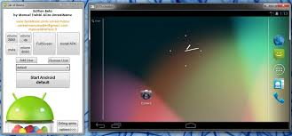 android emulator windows of beans a portable android emulator