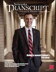 nebraska transcript nebraska college of law
