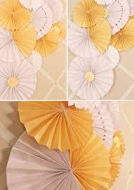 paper fans diy diy paper wedding fans