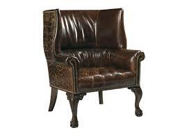 Leather Chair Lexington Leather Cardiff Leather Chair Lexington Home Brands