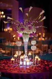 Wedding Centerpieces With Crystals by Suhaag Garden Weddings Florida Indian Wedding Decorator