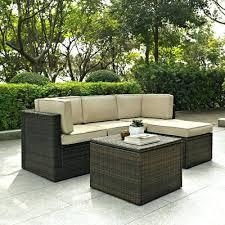 wayfair outdoor furniture studio 5 piece modular seating group