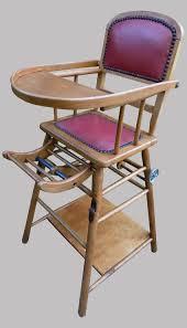 chaise haute b b occasion chaise haute pour bébé d occasion vintage