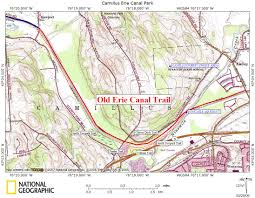 Map Of The Erie Canal Camill2 Jpg