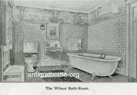 Arts And Crafts Interior Arts And Crafts Interior 1910 The Bungalow Bathroom Flickr