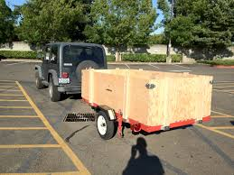 jeep utility trailer outside the rat race harbor freight tools heavy duty foldable