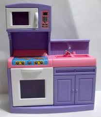Little Tikes My Size Barbie Dollhouse by Step 2 Grand Balcony Doll House Kitchen Stove Oven Barbie