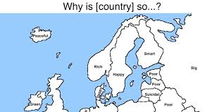 World Map Cartoon by Google Reveals What People Really Think About Europe And Asia