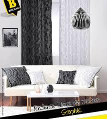 babou housse de canapé graphic et noir et blanc mes deux inspirations du moment babou