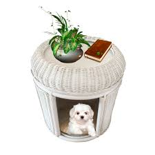 Cushion Pets Rattan Pets Bed End Table Storage Plant Stand Model Lucky With