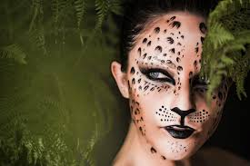 Cheetah Face Makeup For Halloween Leopard Print Make Up Tutorial Shonagh Scott Showme Makeup