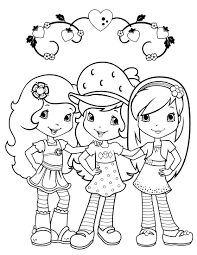 strawberry shortcake 68 coloringcolor com