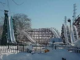 at amusement parks what do they do to the rides during winter quora