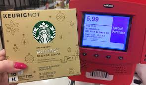 did target have coffee pods for 8 on black friday even better deal starbucks k cups only 1 32 at target the
