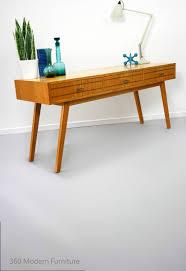 Oak Sofa Table by Mid Century Gertner Console Hall Sofa Table Oak Vintage Retro