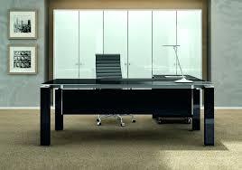 meubles bureau design mobilier de bureau contemporain mobilier de direction noir au