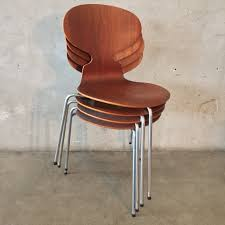 set of four vintage arne jacobsen chairs u2013 urbanamericana