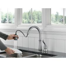 great delta pull down kitchen faucet 74 for your interior