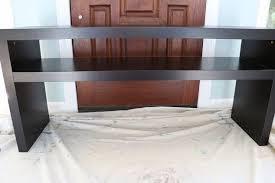 ikea sofa table easy ikea lack sofa table hack hometalk