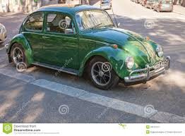 green volkswagen beetle green early 1966 volkswagen beetle car editorial image image