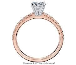 4 carat cubic zirconia engagement rings 1 4 ct tw cubic zirconia engagement ring in 14k gold plated