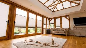 Duette Blinds Cost A Timber Orangery With Duette Blinds
