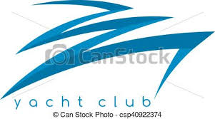 abstract fast boat simple vector design template vectors