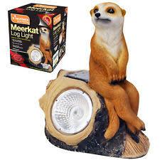 meerkat solar light ebay