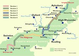 Hertfordshire England Map by Maps And Distances The Ridgeway National Trails The Ridgeway