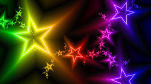 Colorful Pictures Download Wallpaper 1920x1080 Light Stars Lilac Black Energy