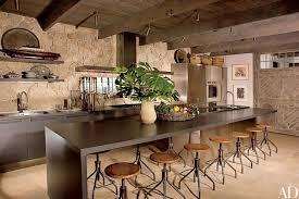 steinwand küche schöne rustikale küchendesign für ein warmes kochen erfahrung