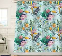 Hawaiian Print Shower Curtains by Showercurtain Sunlit Brighten Up Your Life