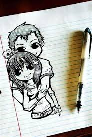 cute couple sketch quotes 4 you